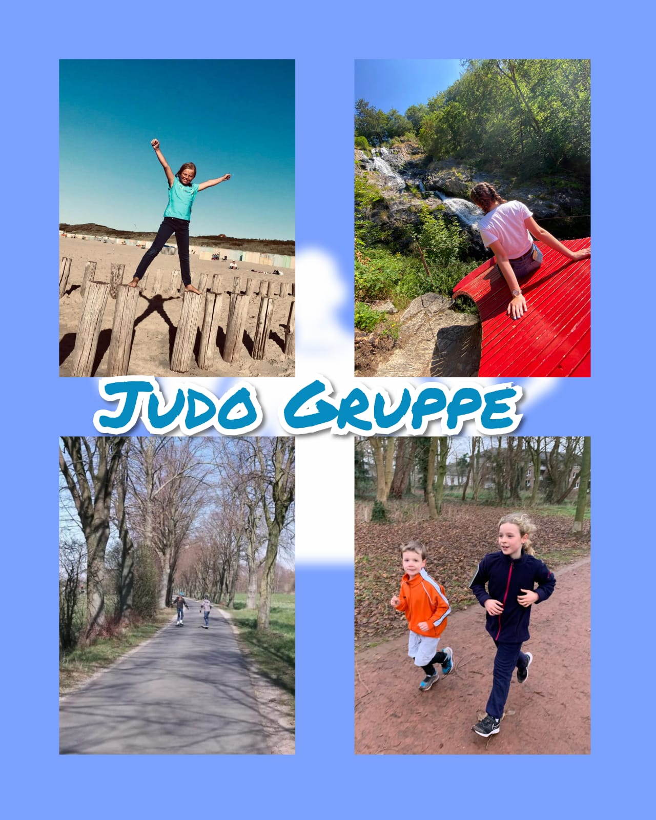 Collage Judo Gruppe